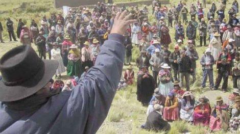 Cajamarca: Desafían a Humala y amenazan con nuevo paro
