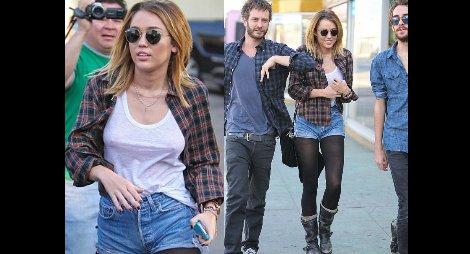 ¿Olvidates algo? El atuendo con el que se dejó ver Miley Cyrus
