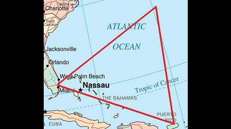 Revelan el misterio del Triángulo de las Bermudas