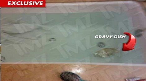¡Esta es la tina donde murió Whitney Houston!