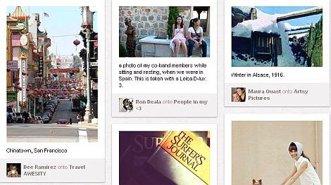 Actividad de los usuarios en Pinterest podría ser ilegal